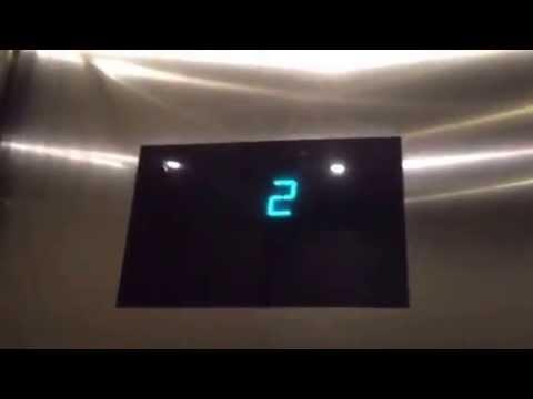 AWESOME OTIS Gen2 Series 4 MRL Traction Elevators @ LA Live Conference Center, Los Angeles, CA