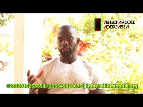 Abibifahodie Adesuabea Testimonial #1: Agya Kwaku Prempeh