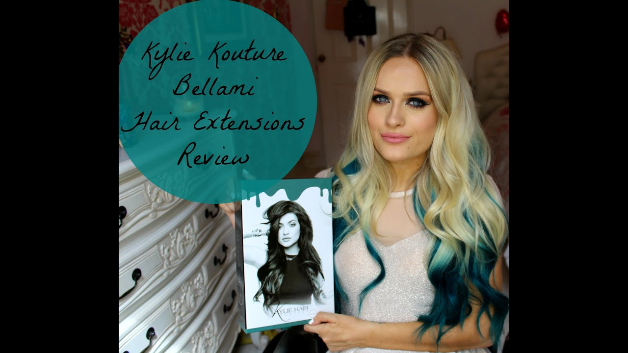Kylie Jenner Hair Kouture Teal Hair Extensions By Bellami Review