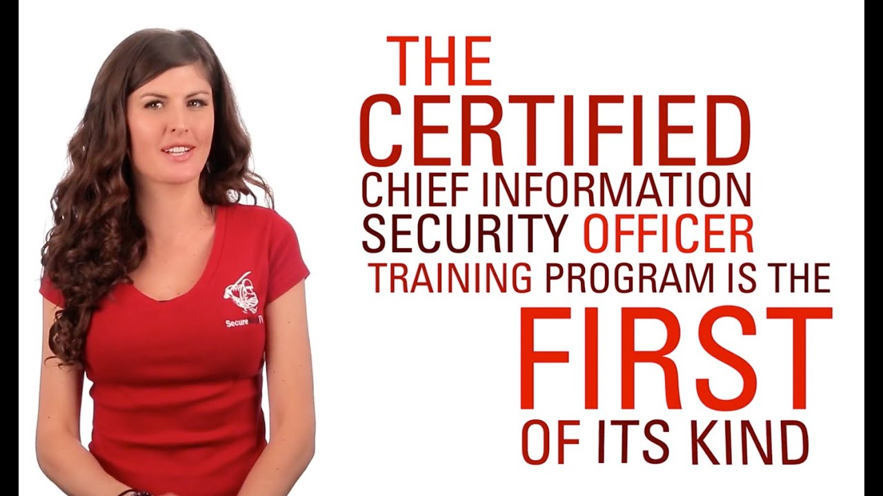 CCISO Certified Chief Information Security Officer Training   YouTube