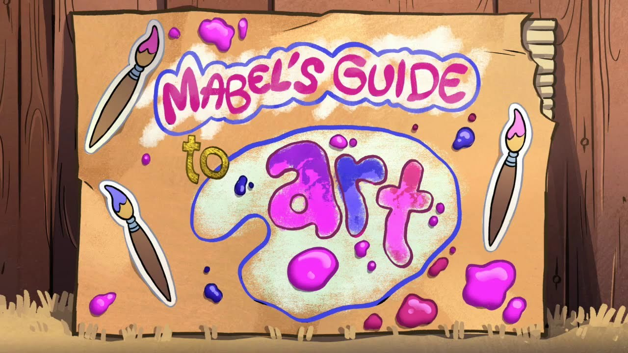 Gravity falls mabel s guide to dating