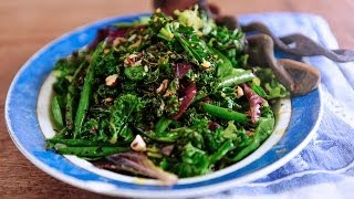 Kale, Orange Zest And Hazelnut Salad // Tess Ward