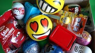 박스 안에 다양한 장난감 전부 까기, various surprise toys