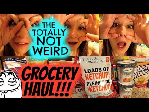 THE TOTALLY NOT WEIRD WEIGHT LOSS GROCERY HAUL!!!