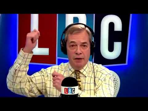 Nigel Farage Discusses Jacob Rees Mogg Scuffle