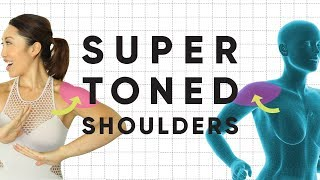 5 Weightless Shoulder Isolation Exercises for Super Toned Arms