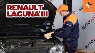 Întreținere și manual service Renault Laguna 2 - tutoriale video gratuit