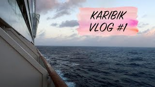 AIDA KARIBIK VLOG # 1 - Anreise & Seetag mit ordentlich Seegang