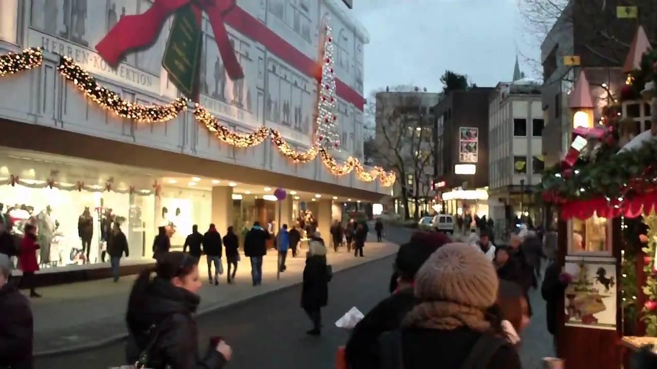 stuttgart weihnachtsmarkt breuninger deko youtube