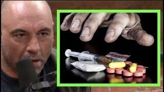 What Really Causes Drug Addiction   Joe Rogan & Johann Hari