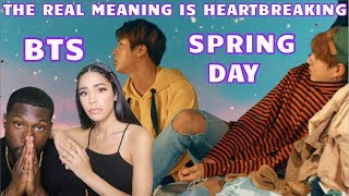 BTS - Spring Day Explained REACTION