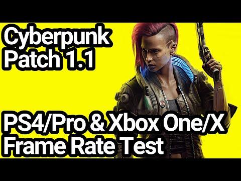 Сравнение Cyberpunk 2077 после патча 1.1 с прошлой версией на Xbox One X и Xbox One S