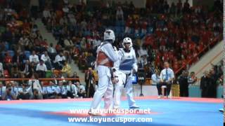 Servet TAZEGUL (TUR) vs (ESP) (4th Europen Taekwondo Championships For Team)