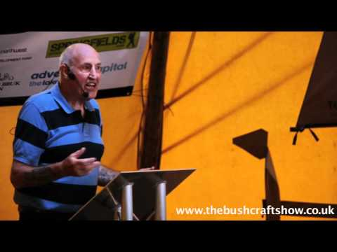 John 'LOFTY' Wiseman on RAY MEARS and BEAR GRYLLS at The Bushcraft Show