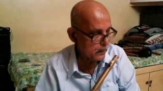 Patil flutist - Lag Ja Gale Ki Phir Ye Hasin Raat  Instrumental Cover on Flute by Balakrishna Patil
