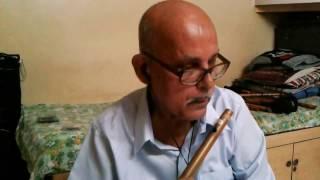 Download Hindi Video Songs - Patil flutist - Lag Ja Gale Ki Phir Ye Hasin Raat  Instrumental Cover on Flute by Balakrishna Patil
