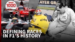 5 moments that shaped F1's first 1000 races