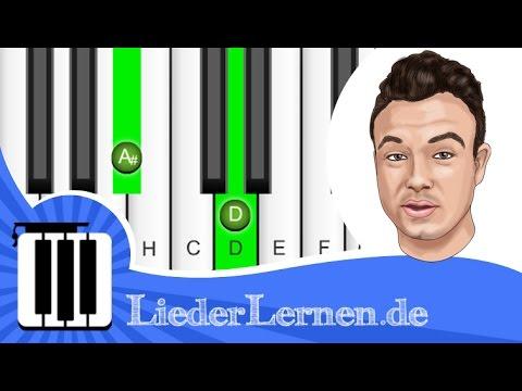 SDP - Adel Tawil - Ich will nur dass du weißt - Klavier lernen - Musiknoten - Akkorde