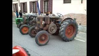 raduno trattori d'epoca ... Santa Cristina e Bissone