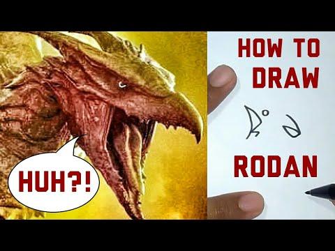 HOW TO DRAW RODAN