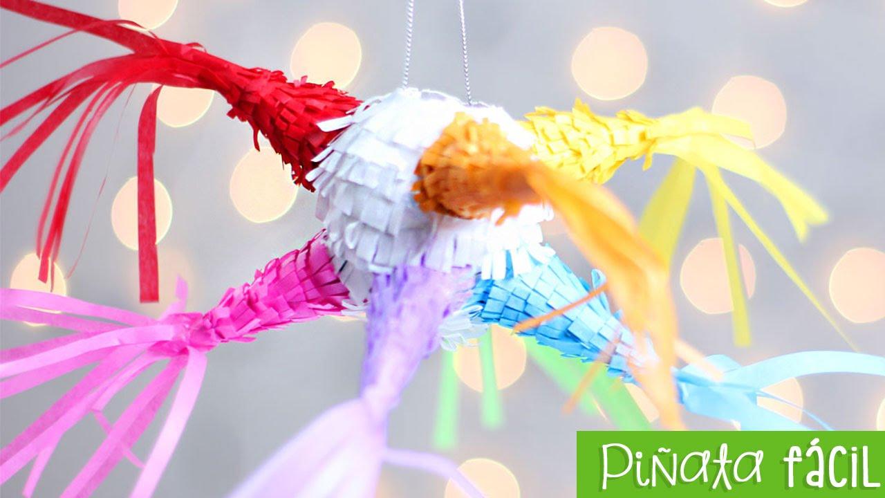 How To Make A Piñata Easy Mini And Pretty