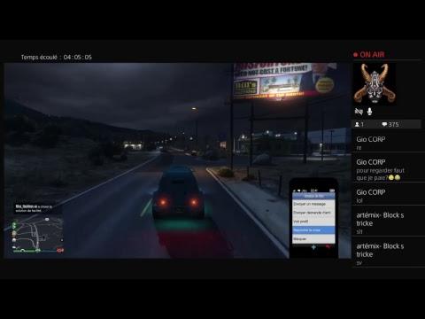 Live{FR} retour sur GTA ca fait un baille (nouveau DLC) missions