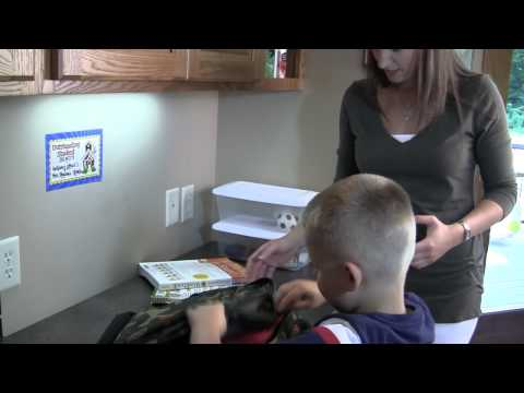 Creating A Homework Station For Your Child   Smead 2-Minute Tips