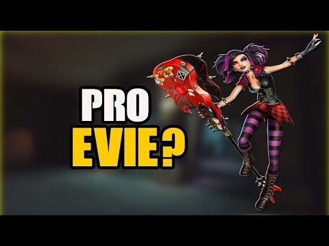 "Paladins - ""Pro Evie""? Gameplay!"