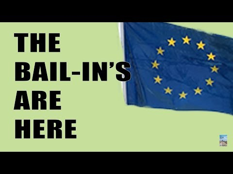 BAIL-IN in Europe is Going Widespread and May Include COVERED DEPOSITS!
