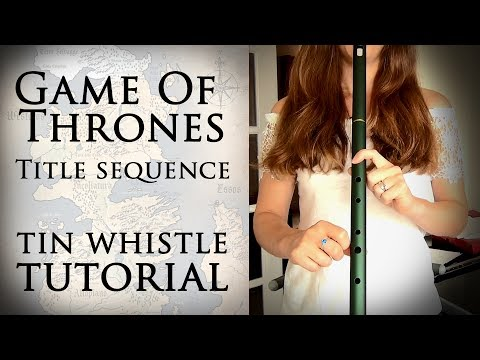MK Pro Low D Whistle - Game Of Thrones Title Sequence Tin Whistle Tutorial