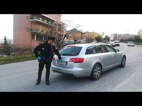 posti di blocco carabinieri ricerca evasi carcere