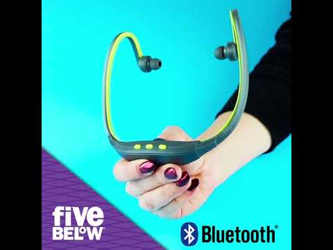 0c260e1a720 UltraSport Wireless Headphones @ Five Below - YouTube
