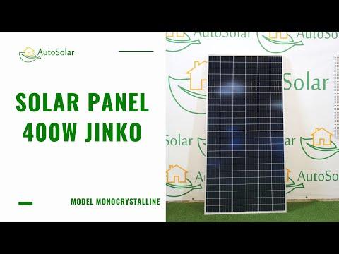Solar Panel 400W Jinko Solar | Autosolar