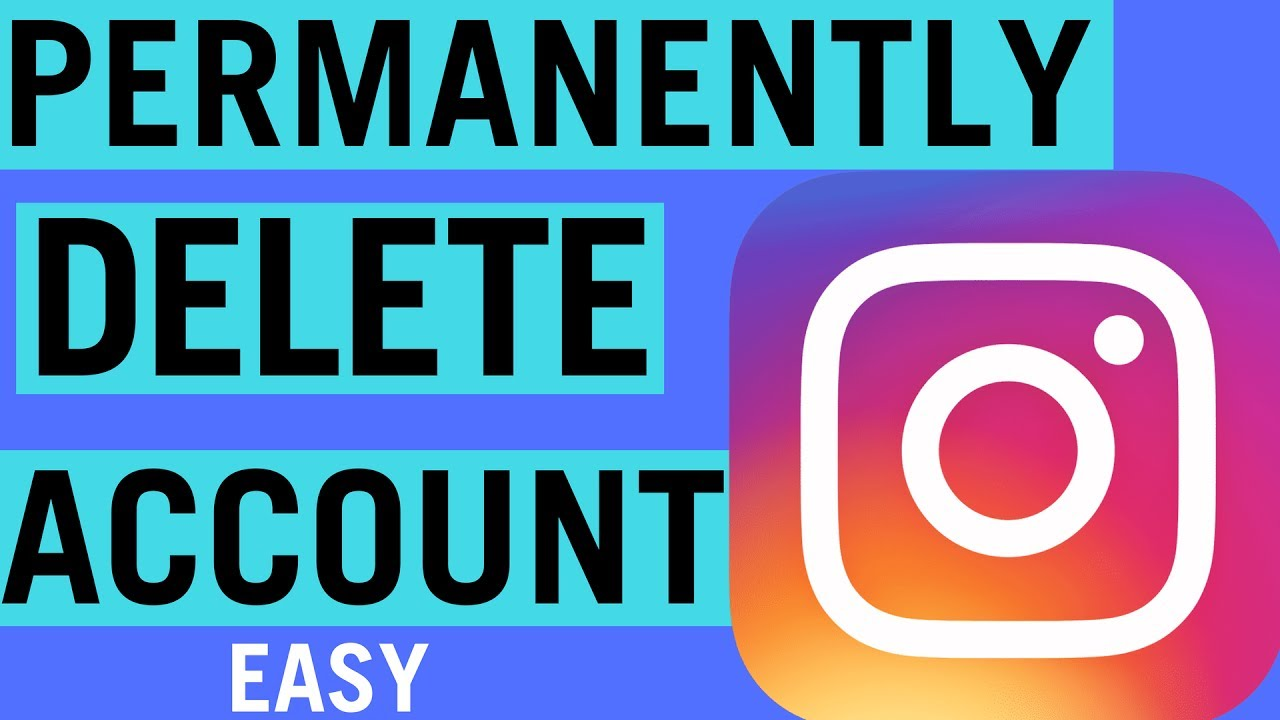 How to permanently delete an instagram account 2018 youtube how to permanently delete an instagram account 2018 ccuart Image collections