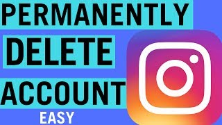 how to permanently delete an instagram account 2018