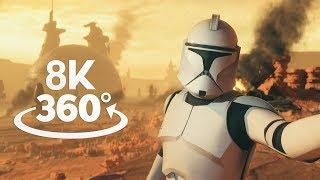 Star Wars Battlefront II Geonosis 360° Video in 8K!