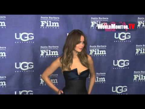 Jennifer Lawrence so stunning at Santa Barbara International Film Festival 2013