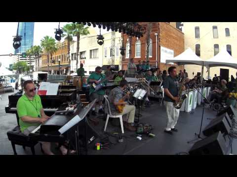 "The Mica Bethea BigBand ""Outskirts"" 2015 Jax Jazz Fest"