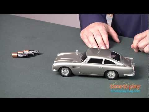 007 Secret Agent Aston Martin Db5 From Toy State Youtube
