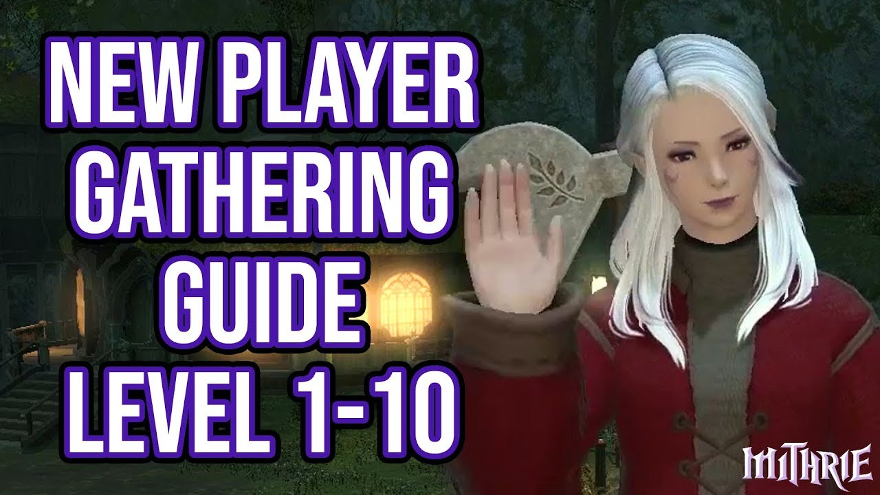 FFXIV 2 56 0604 New Player Gathering Guide Level 1 to 10