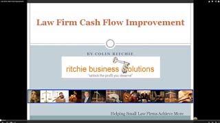 Law Firm Cash Flow Improvement