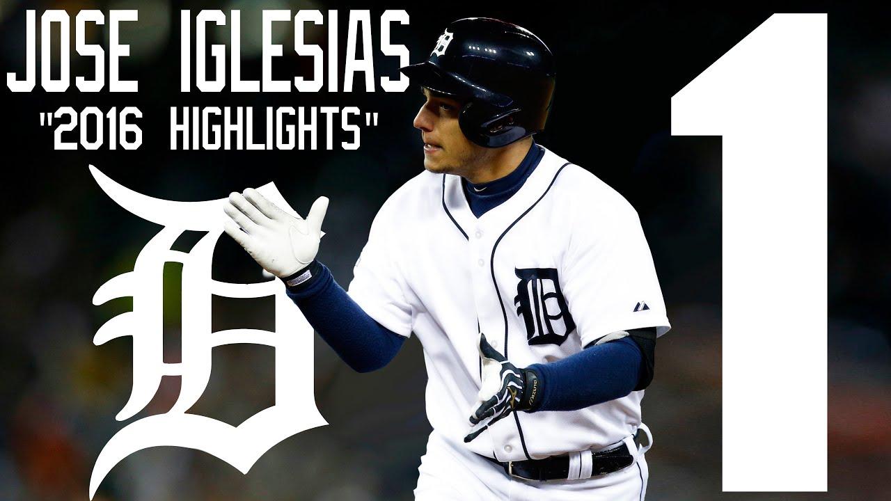 José Iglesias | Detroit Tigers | 2016 Highlights Mix ᴴᴰ