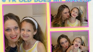6 Year-old Niece Does My Makeup!!! Thumbnail