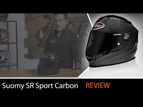 Suomy SR Sport Carbon Full Face Helmet Review At SpeedAddicts.com