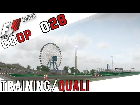 F1 2013 COOP Part 28 - Japan Training/Quali (FullHD) / Lets Play Together F1 2013