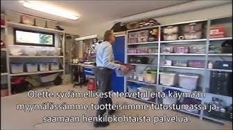Varastohyllyt ja-kalusteet autotalliin suomeksi/varastoexpert.fi