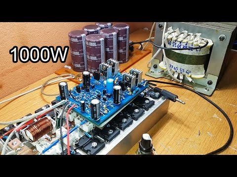 Amazing 1000W amplifier circuit, Gerber File - YouTube
