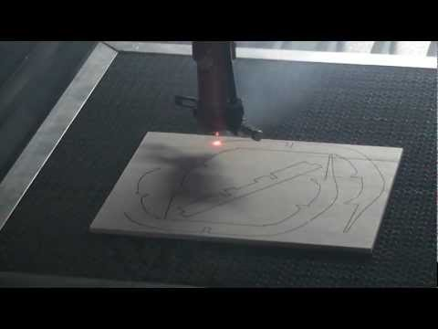 100w Laser Cuting 4mm thick plywood
