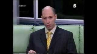 Дмитрий Гордон призывает украинцев выйти на Майдан, 2004 год(24 ноября 2004 года Дмитрий Гордон в эфире