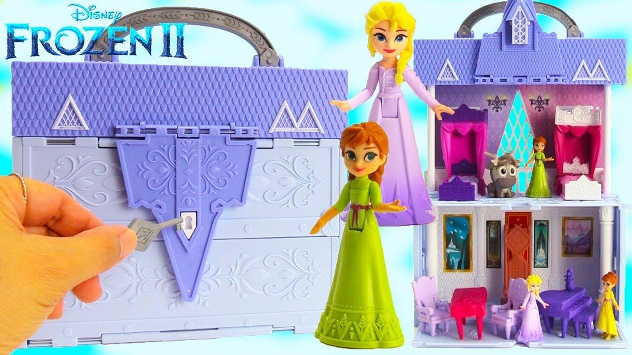 CRAZE II Pom PON 24164 Porte-cl/és Frozen 2 Porte-cl/és Elsa Anna ou Olaf Party Petit Cadeau pour Enfants
